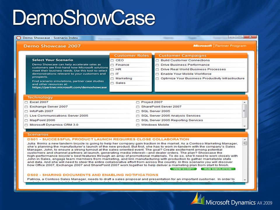 DemoShowCase