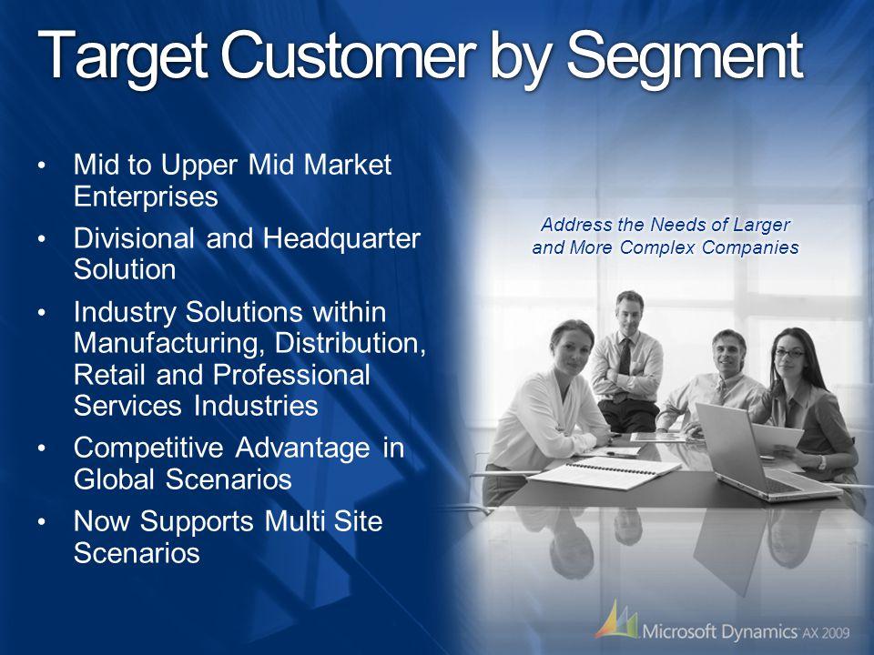 Target Customer by Segment