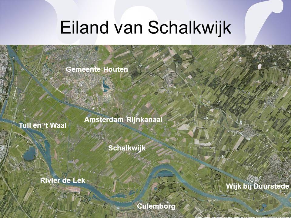 Eiland van Schalkwijk Gemeente Houten Amsterdam Rijnkanaal