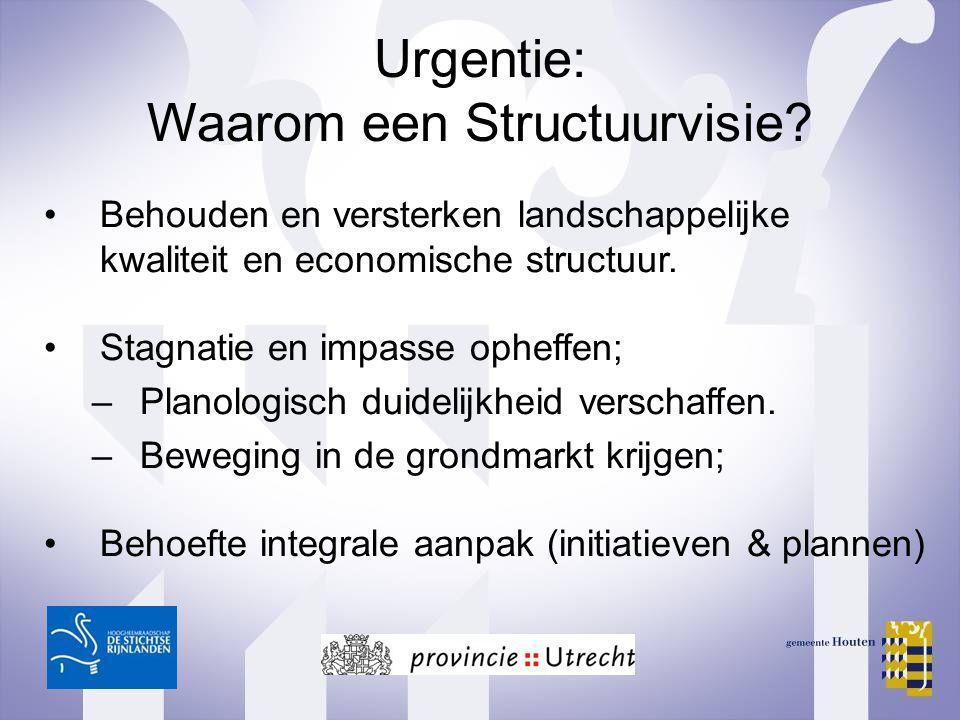 Urgentie: Waarom een Structuurvisie