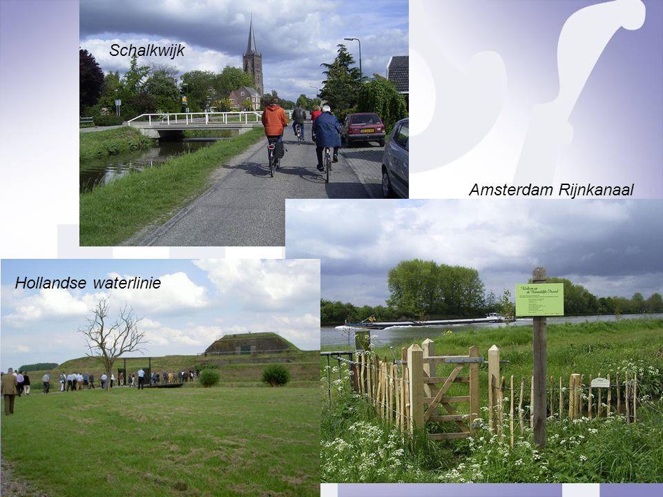 Schalkwijk Amsterdam Rijnkanaal Hollandse waterlinie