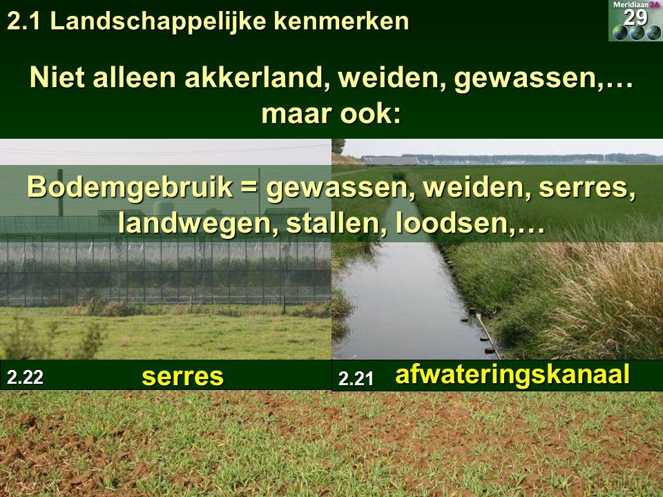 Niet alleen akkerland, weiden, gewassen,… maar ook: