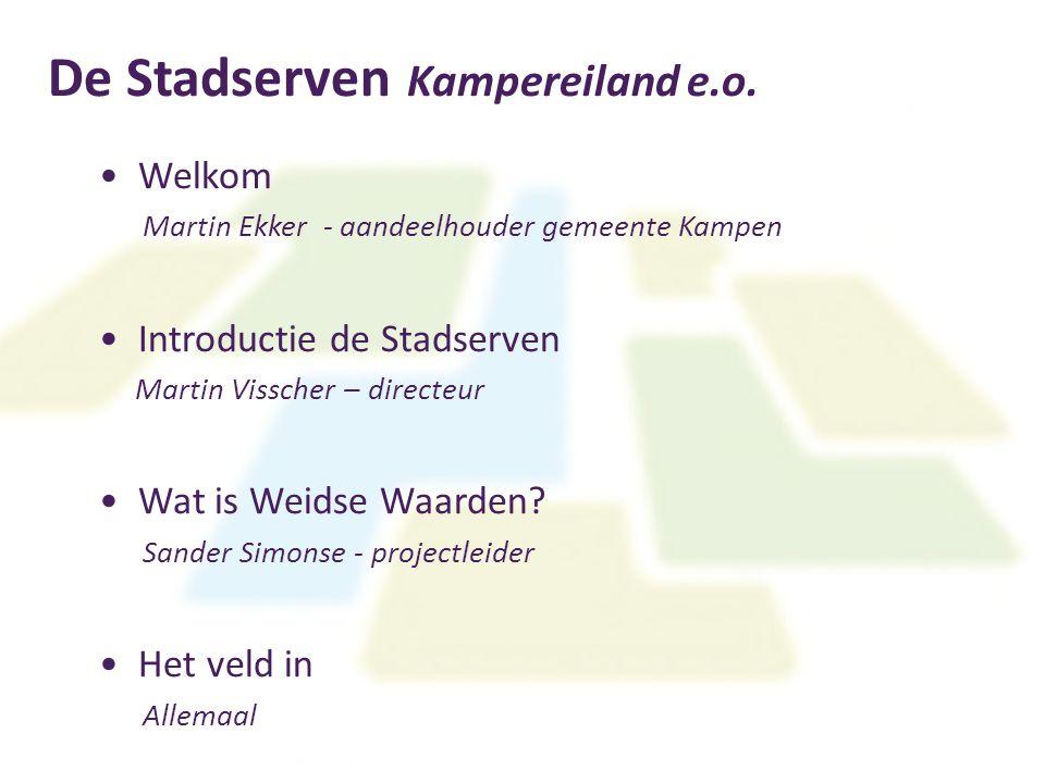 De Stadserven Kampereiland e.o.