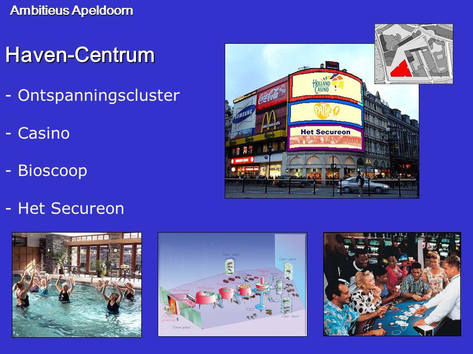 Haven-Centrum - Ontspanningscluster - Casino - Bioscoop - Het Secureon