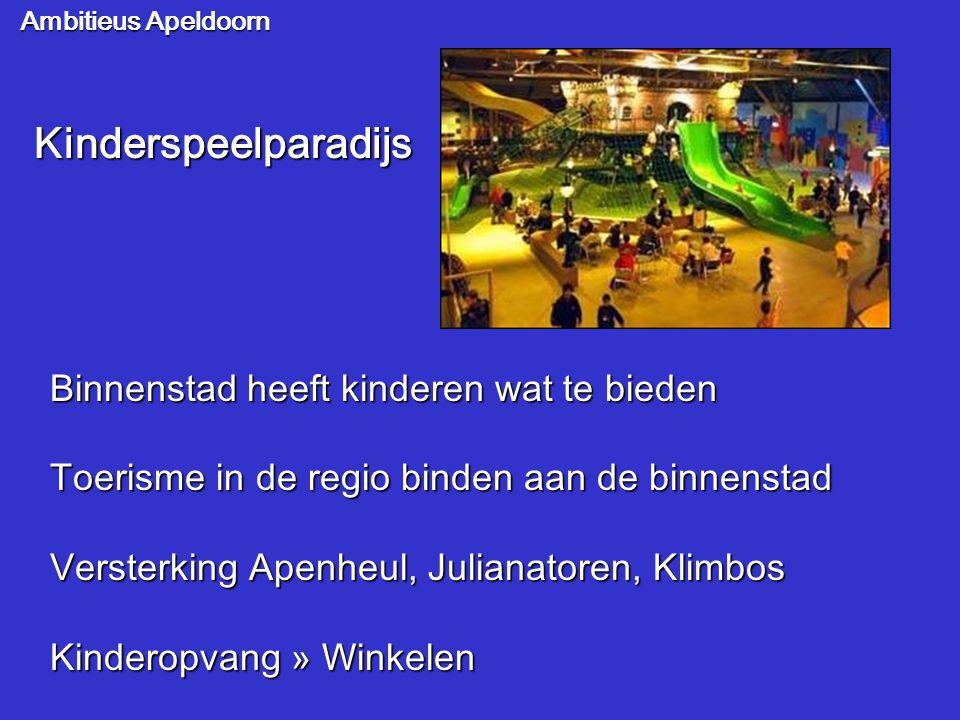 Kinderspeelparadijs Binnenstad heeft kinderen wat te bieden