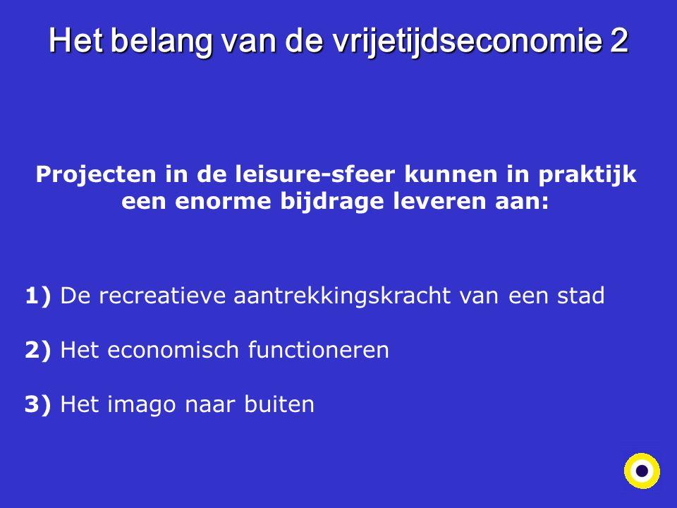 Het belang van de vrijetijdseconomie 2