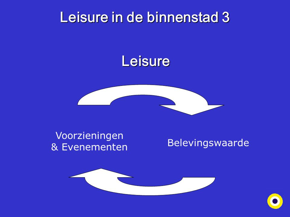 Leisure in de binnenstad 3