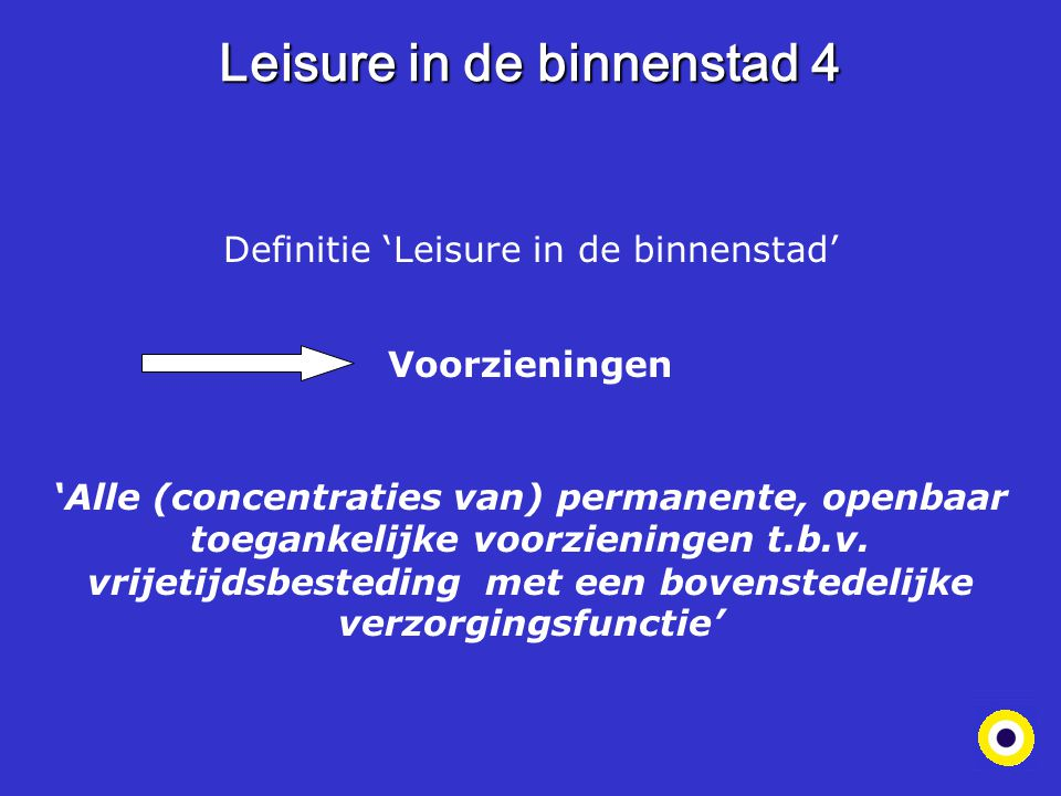Leisure in de binnenstad 4