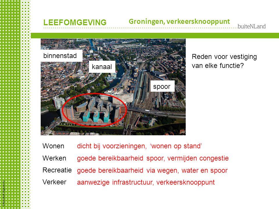 Groningen, verkeersknooppunt