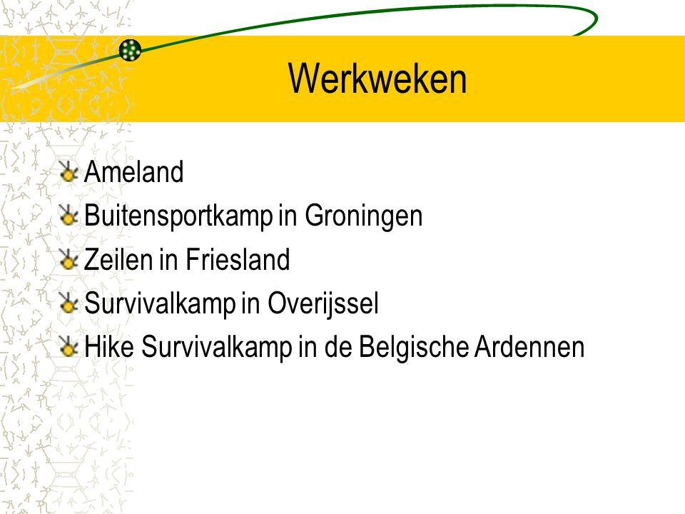 Werkweken Ameland Buitensportkamp in Groningen Zeilen in Friesland