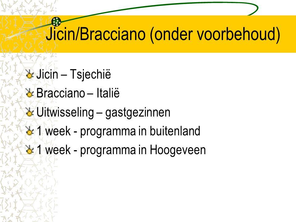 Jicin/Bracciano (onder voorbehoud)