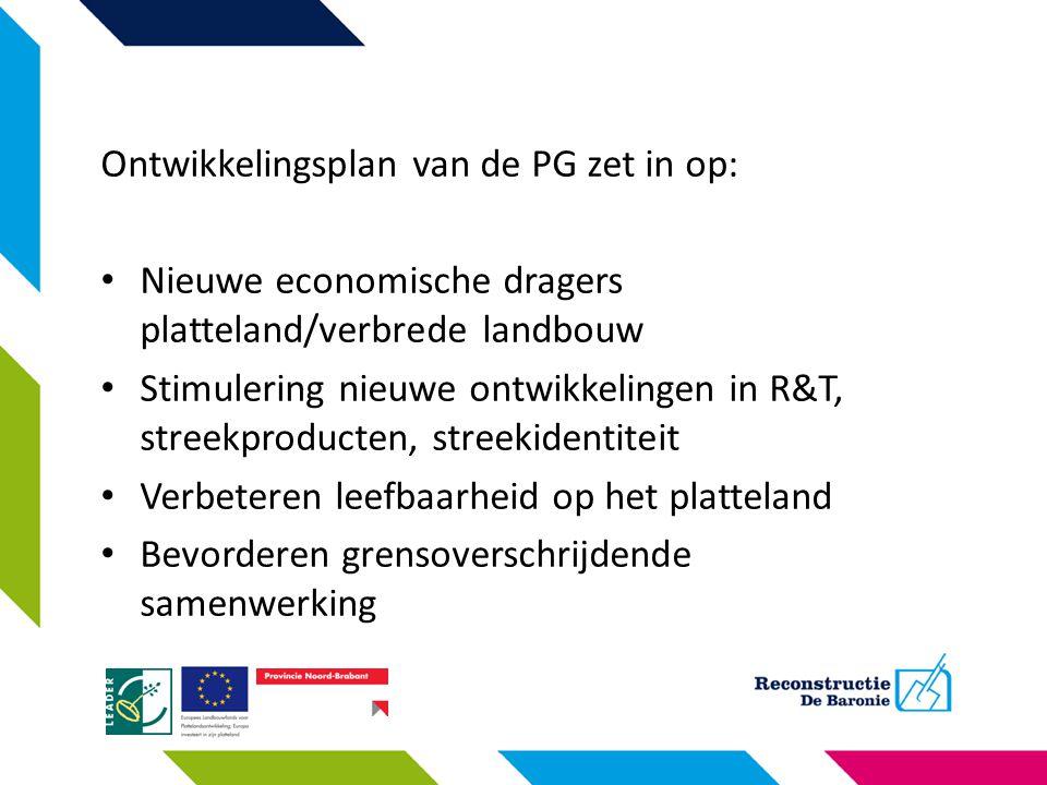 Ontwikkelingsplan van de PG zet in op: