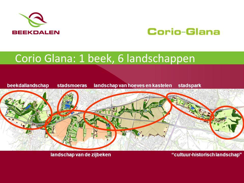 Corio Glana: 1 beek, 6 landschappen