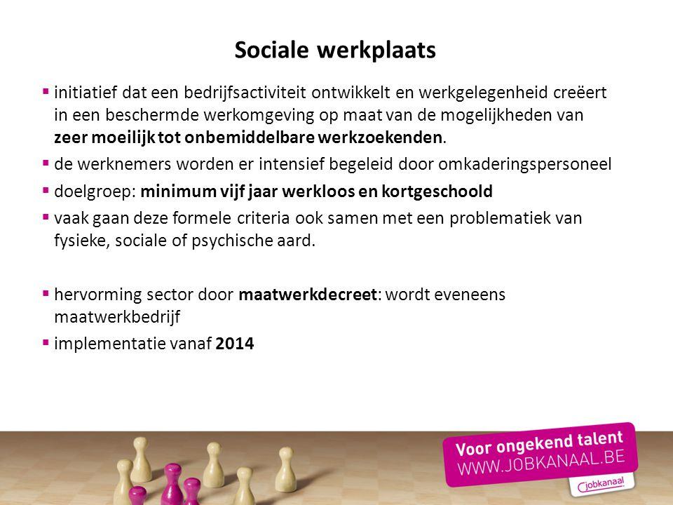 Sociale werkplaats