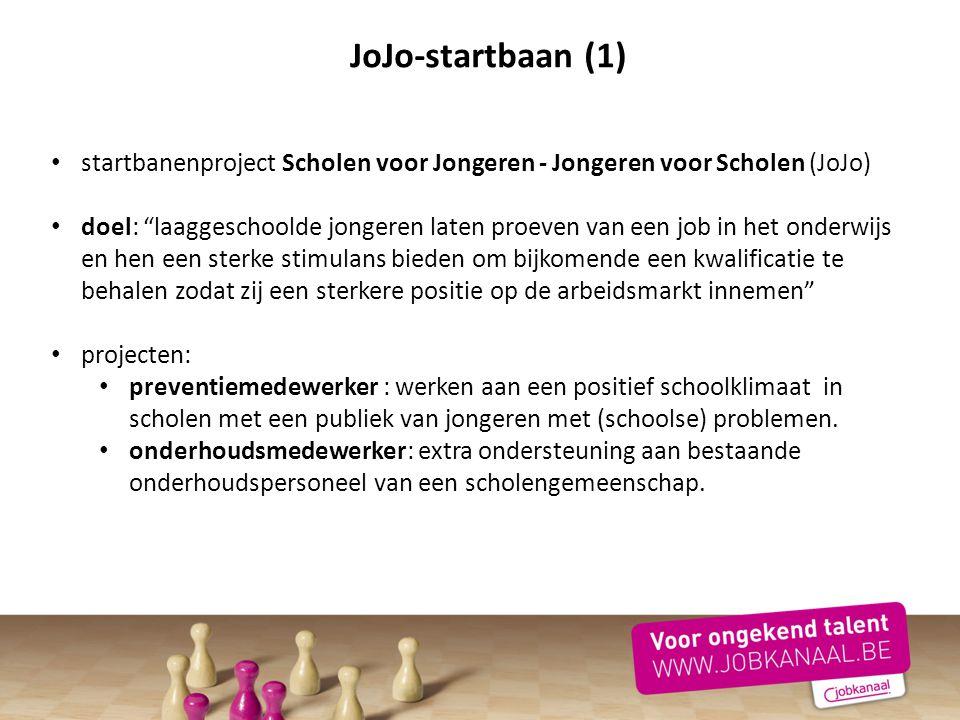 JoJo-startbaan (1) startbanenproject Scholen voor Jongeren - Jongeren voor Scholen (JoJo)