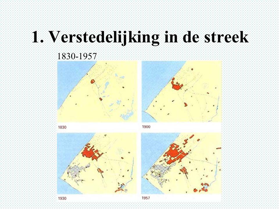 1. Verstedelijking in de streek