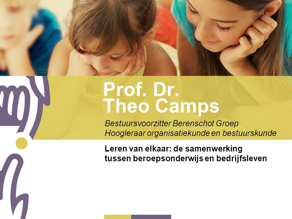 Prof. Dr. Theo Camps Bestuursvoorzitter Berenschot Groep