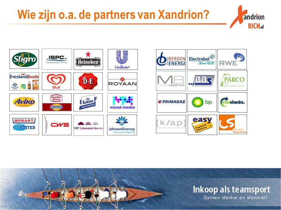 Wie zijn o.a. de partners van Xandrion