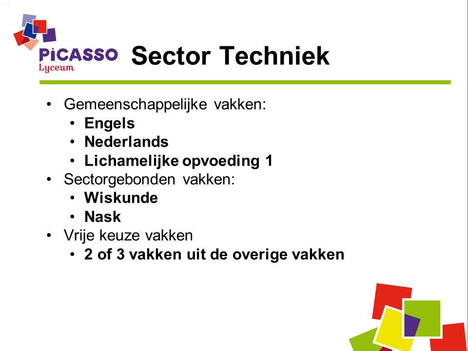 Sector Techniek Gemeenschappelijke vakken: Engels Nederlands
