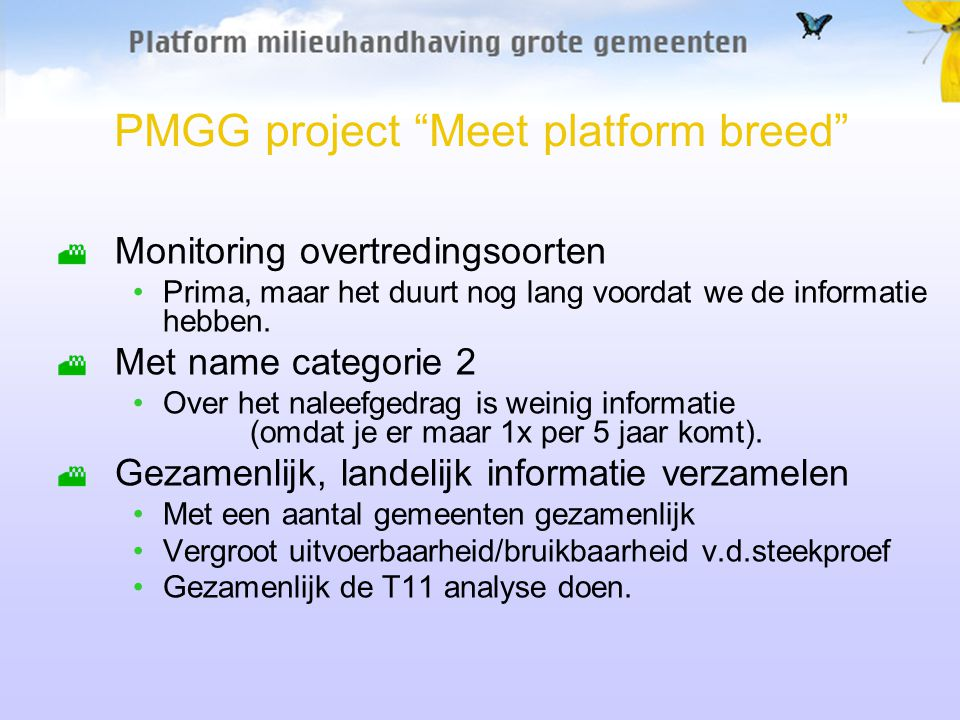 PMGG project Meet platform breed