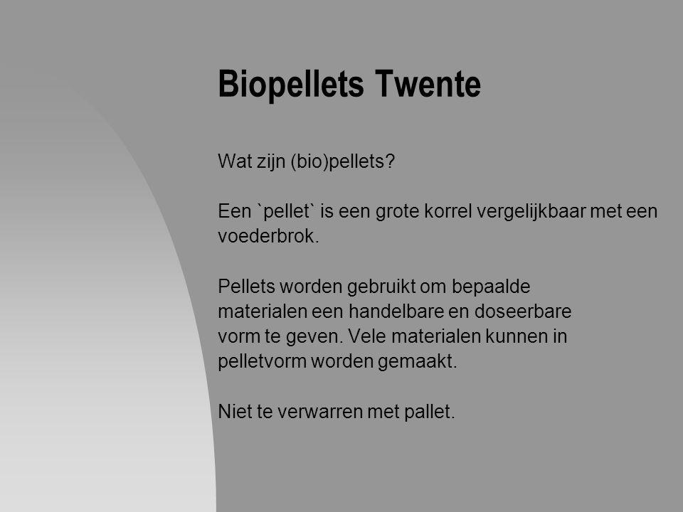 Biopellets Twente Wat zijn (bio)pellets