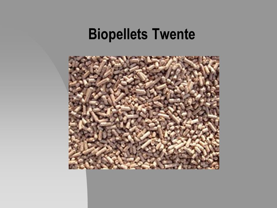 Biopellets Twente