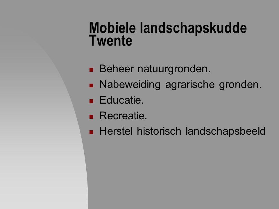 Mobiele landschapskudde Twente