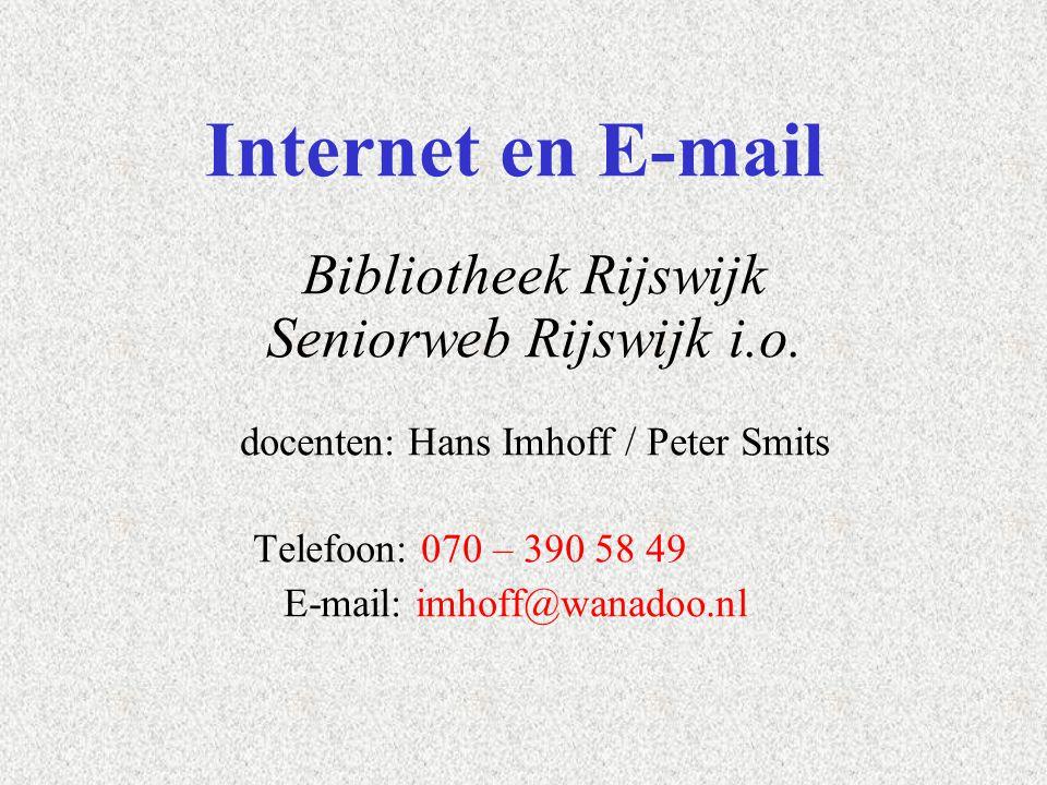 E-mail: imhoff@wanadoo.nl