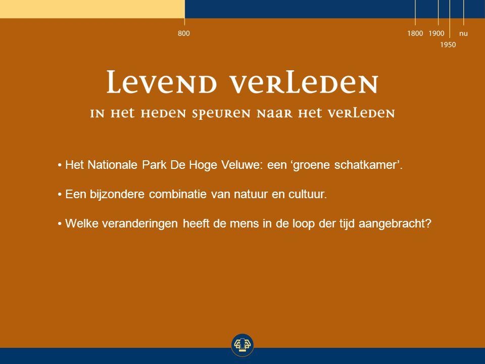Het Nationale Park De Hoge Veluwe: een 'groene schatkamer'.