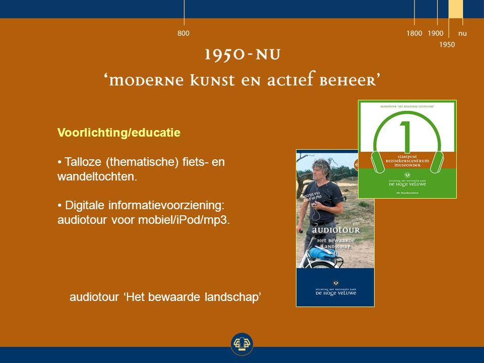 Voorlichting/educatie