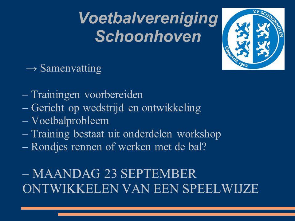 Voetbalvereniging Schoonhoven