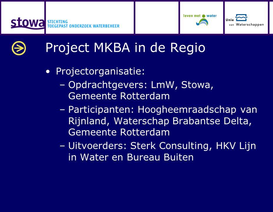 Project MKBA in de Regio