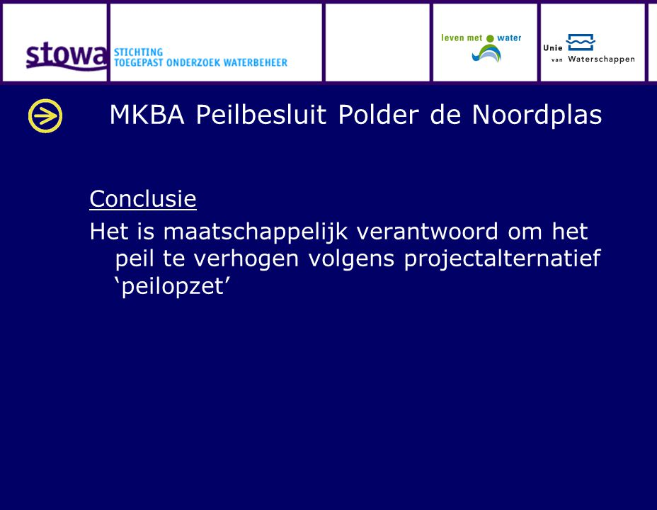 MKBA Peilbesluit Polder de Noordplas