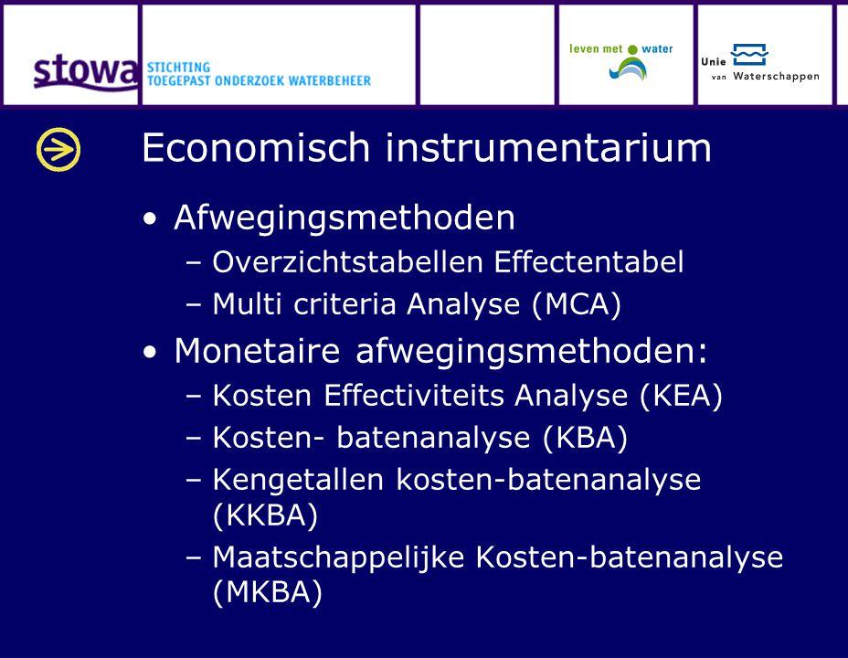 Economisch instrumentarium