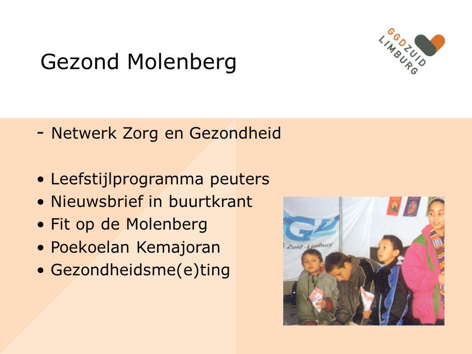 Gezond Molenberg - Netwerk Zorg en Gezondheid