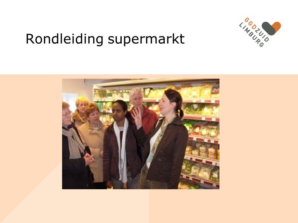 Rondleiding supermarkt
