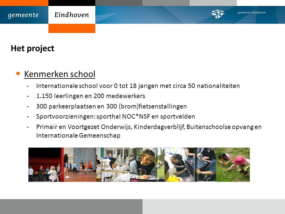 Het project Kenmerken school
