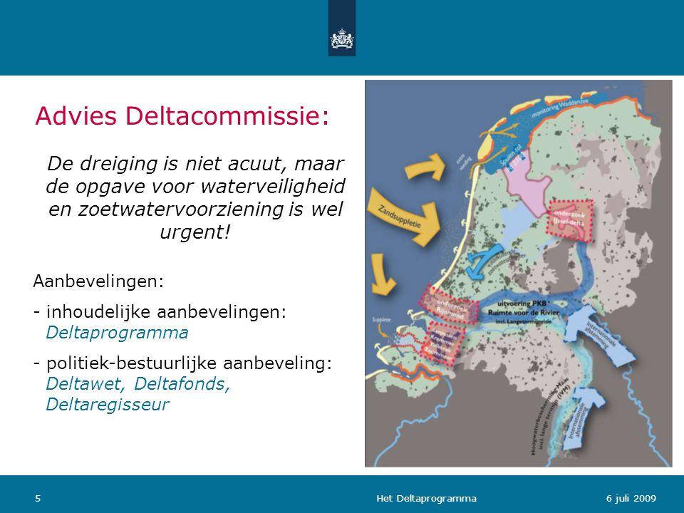 Advies Deltacommissie: