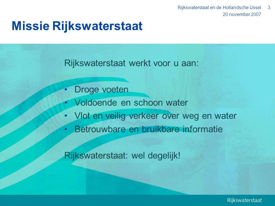 Missie Rijkswaterstaat