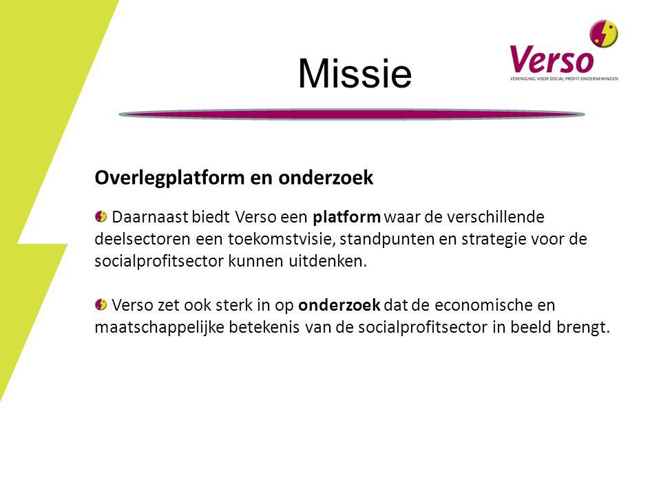 Missie Overlegplatform en onderzoek