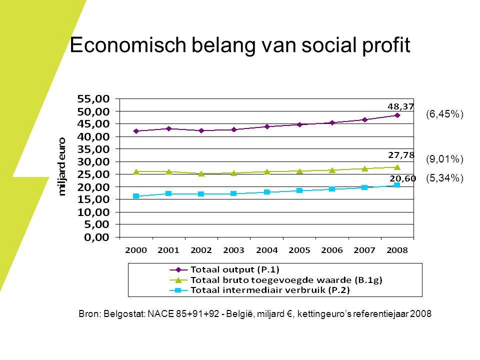 Economisch belang van social profit