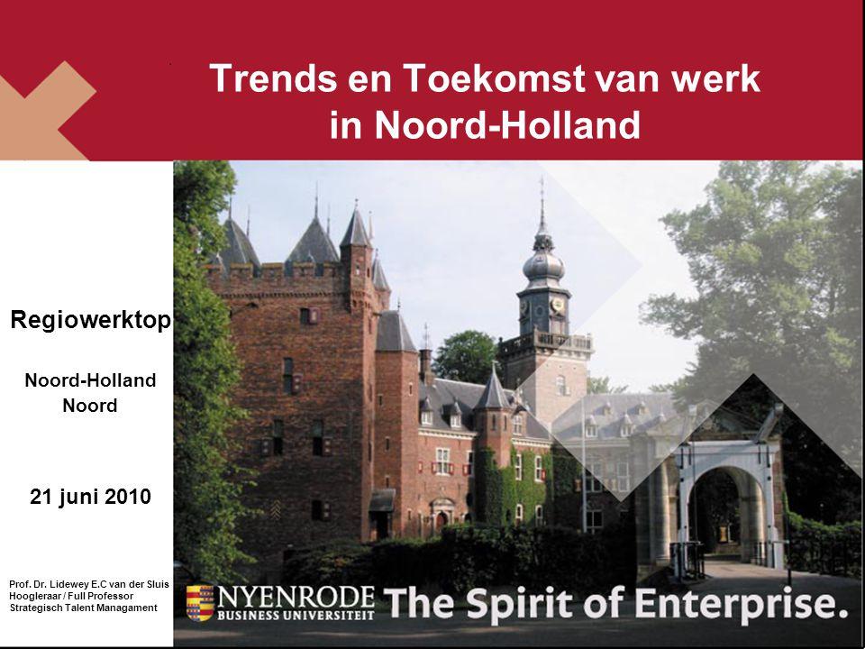 Trends en Toekomst van werk in Noord-Holland