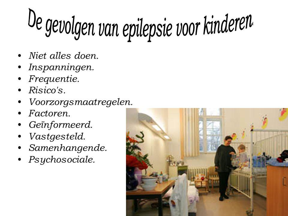 De gevolgen van epilepsie voor kinderen.