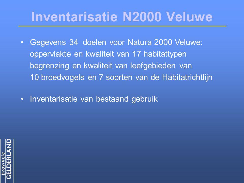 Inventarisatie N2000 Veluwe