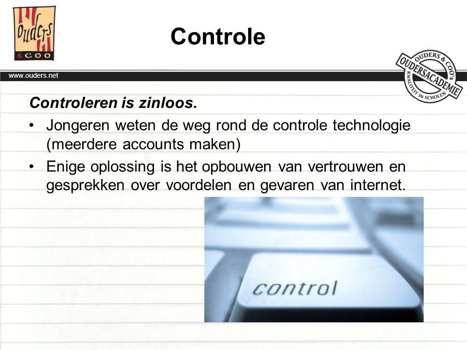 Controle Controleren is zinloos.
