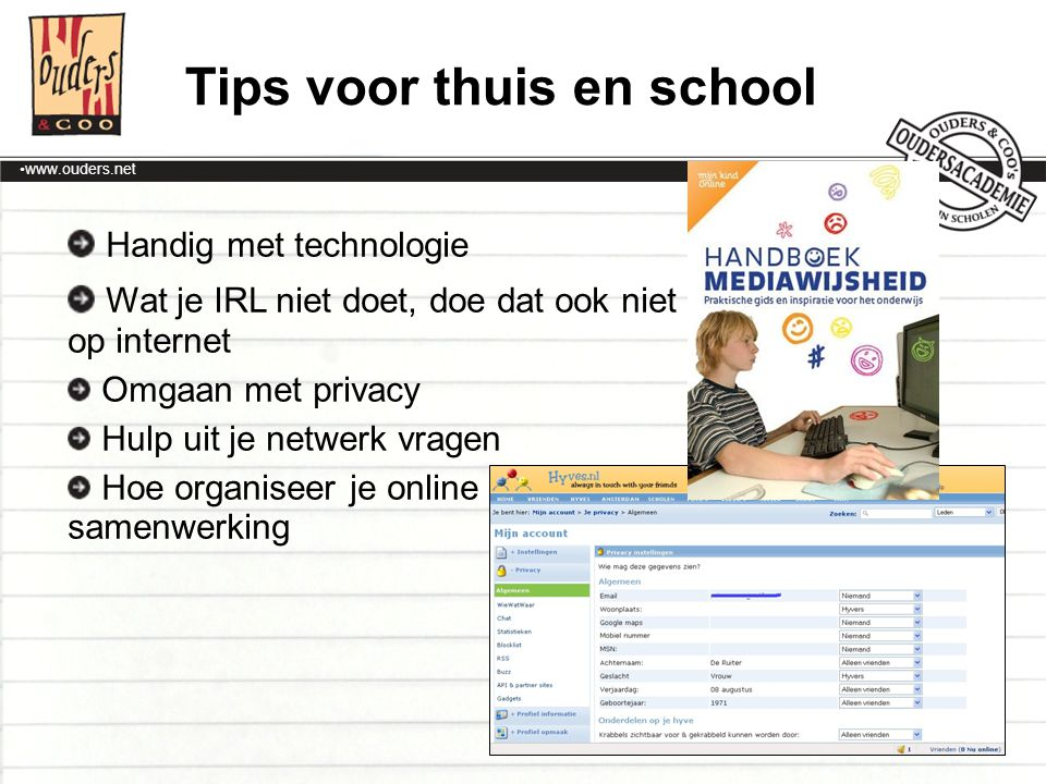 Tips voor thuis en school
