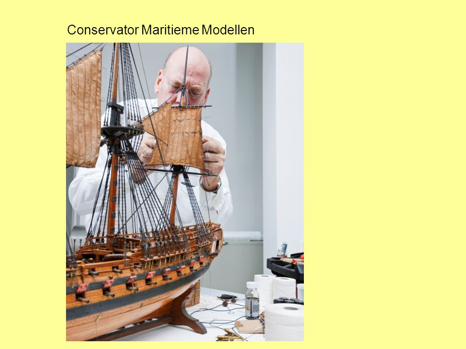 Conservator Maritieme Modellen