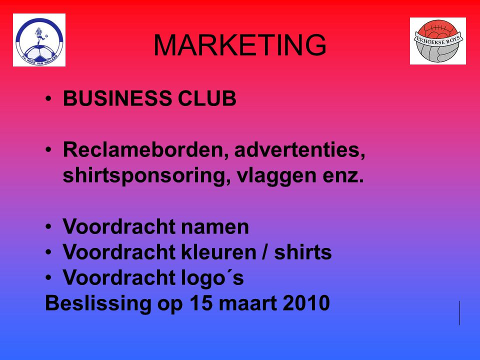 MARKETING BUSINESS CLUB