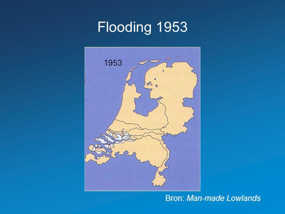 Flooding 1953 Bron: Man-made Lowlands