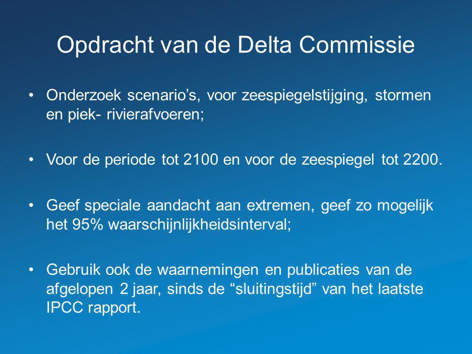 Opdracht van de Delta Commissie
